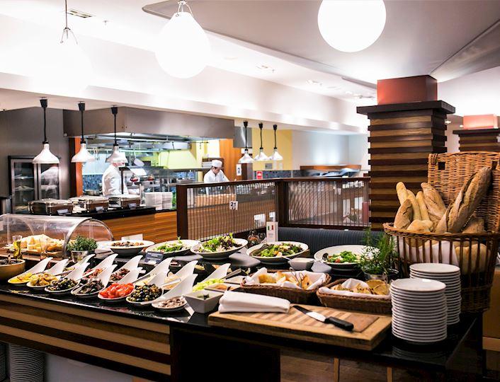 Wnętrze restauracji Wave
