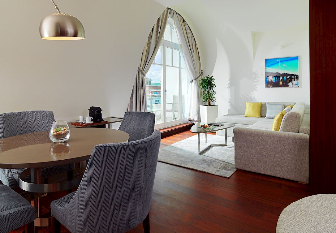 Apartament Club Gdansk z balkonem